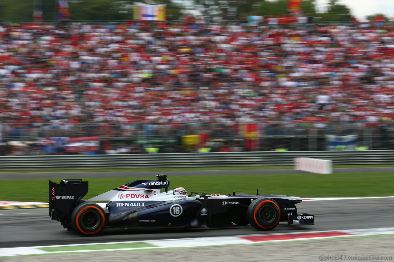 GP ITALIA, Pastor Maldonado (VEN) Williams F1 Team FW35