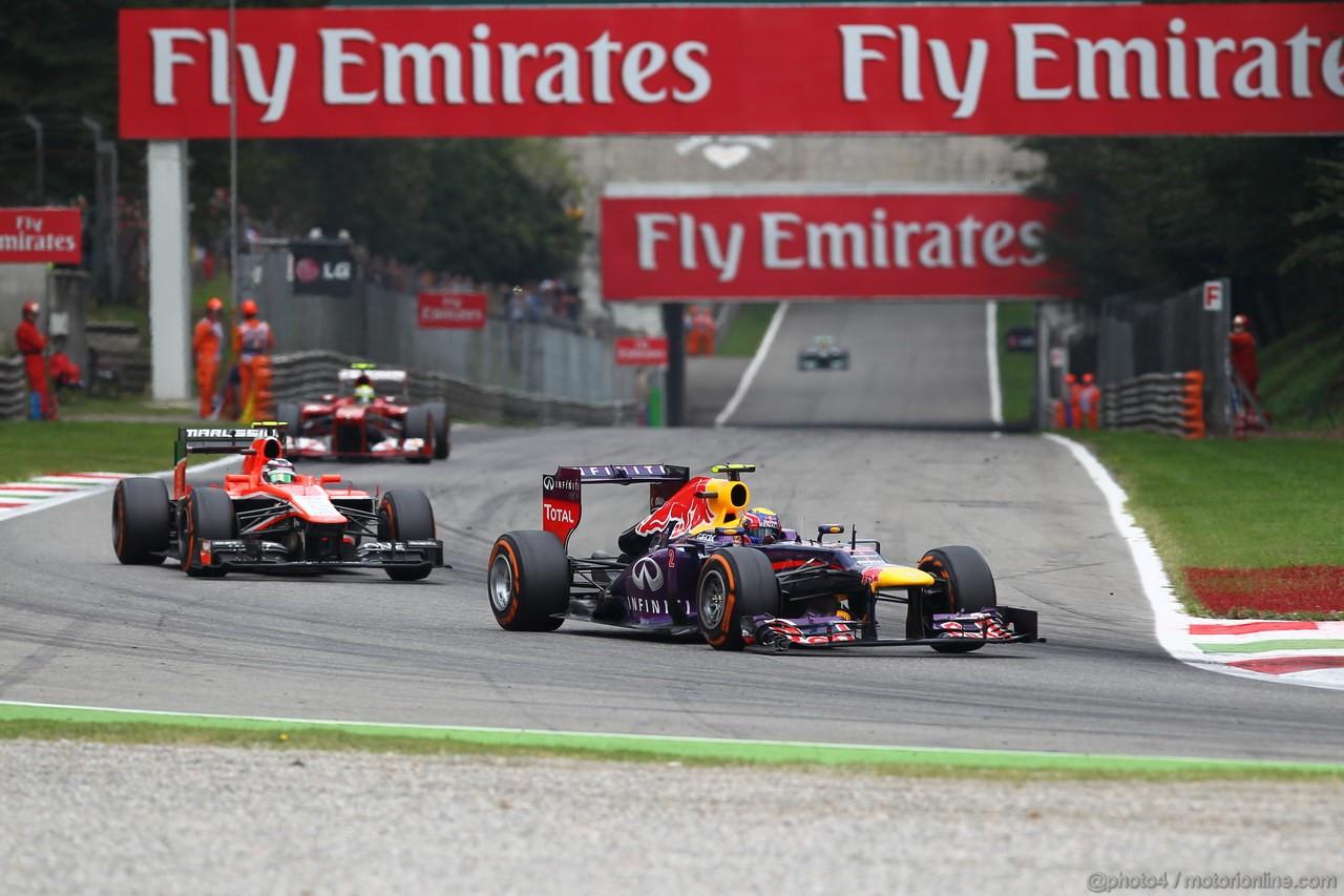 GP ITALIA, Mark Webber (AUS) Red Bull Racing RB9