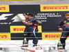 GP ITALIA, 08.09.2013- The Podium, winner Sebastian Vettel (GER) Red Bull Racing RB9