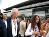 GP ITALIA, 08.09.2013- Marco Tronchetti Provera (ITA) Pirelli Chairman with sua moglie Afef Jnifen (TUN)