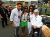 GP ITALIA, 08.09.2013- Bernie Ecclestone (GBR), President e CEO of Formula One Management e Domenica Fabiana Flosi (BRA) with Ronaldo (BRA) e his GF