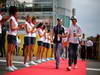 GP ITALIA, 08.09.2013- Pastor Maldonado (VEN) Williams F1 Team FW35 e Esteban Gutierrez (MEX), Sauber F1 Team C32