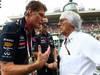 GP ITALIA, David Hasselhoff (USA) actor e Bernie Ecclestone (GBR), President e CEO of Formula One Management