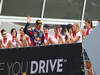 GP ITALIA, Podium: Mark Webber (AUS) Red Bull Racing RB9 (terzo)