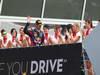 GP ITALIA, Podium: Mark Webber (AUS) Red Bull Racing RB9 (terzo)