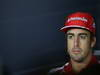 GP ITALIA, 05.09.2013-  Giovedi' Press Conference, Fernando Alonso (ESP) Ferrari F138