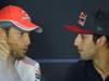 GP ITALIA, 05.09.2013-  Giovedi' Press Conference, Jenson Button (GBR) McLaren Mercedes MP4-28