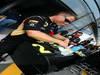 GP ITALIA, 05.09.2013- Lotus Mechanic