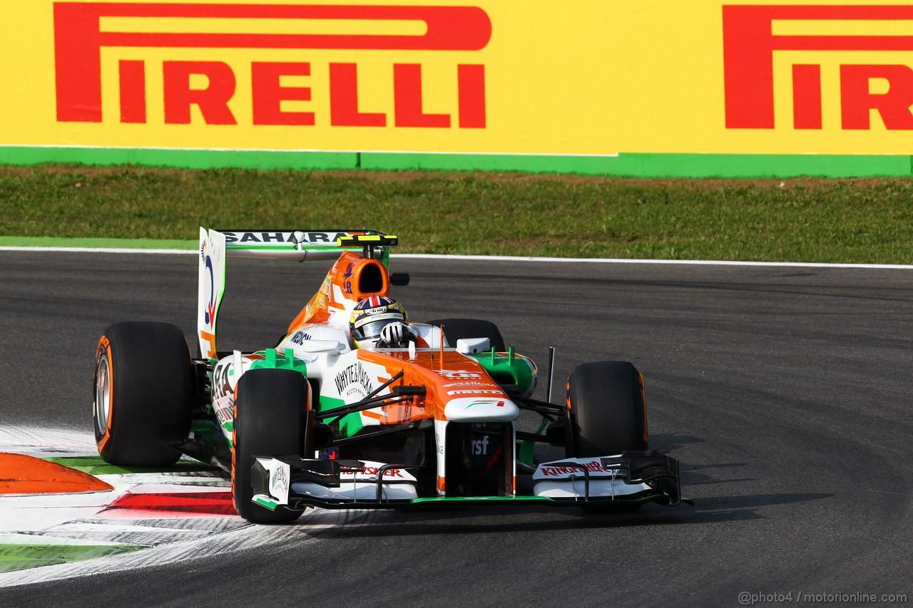 GP ITALIA, 06.09.2013- Prove Libere 1, James Calado(GBR), Sahara Force India F1 Team VJM06 3rd driver