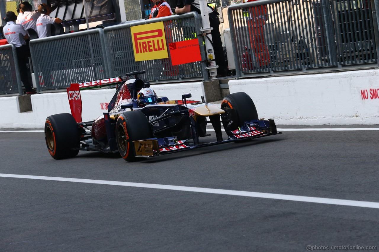 GP ITALIA, 06.09.2013- Prove Libere 1, Jean-Eric Vergne (FRA) Scuderia Toro Rosso STR8