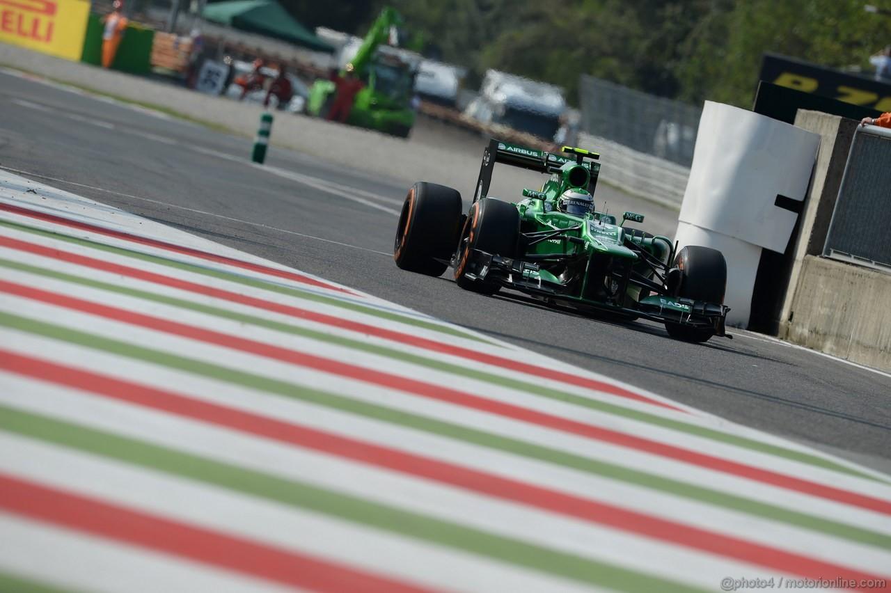 GP ITALIA, 06.09.2013- Prove Libere 1, Giedo Van der Garde (NED), Caterham F1 Team CT03