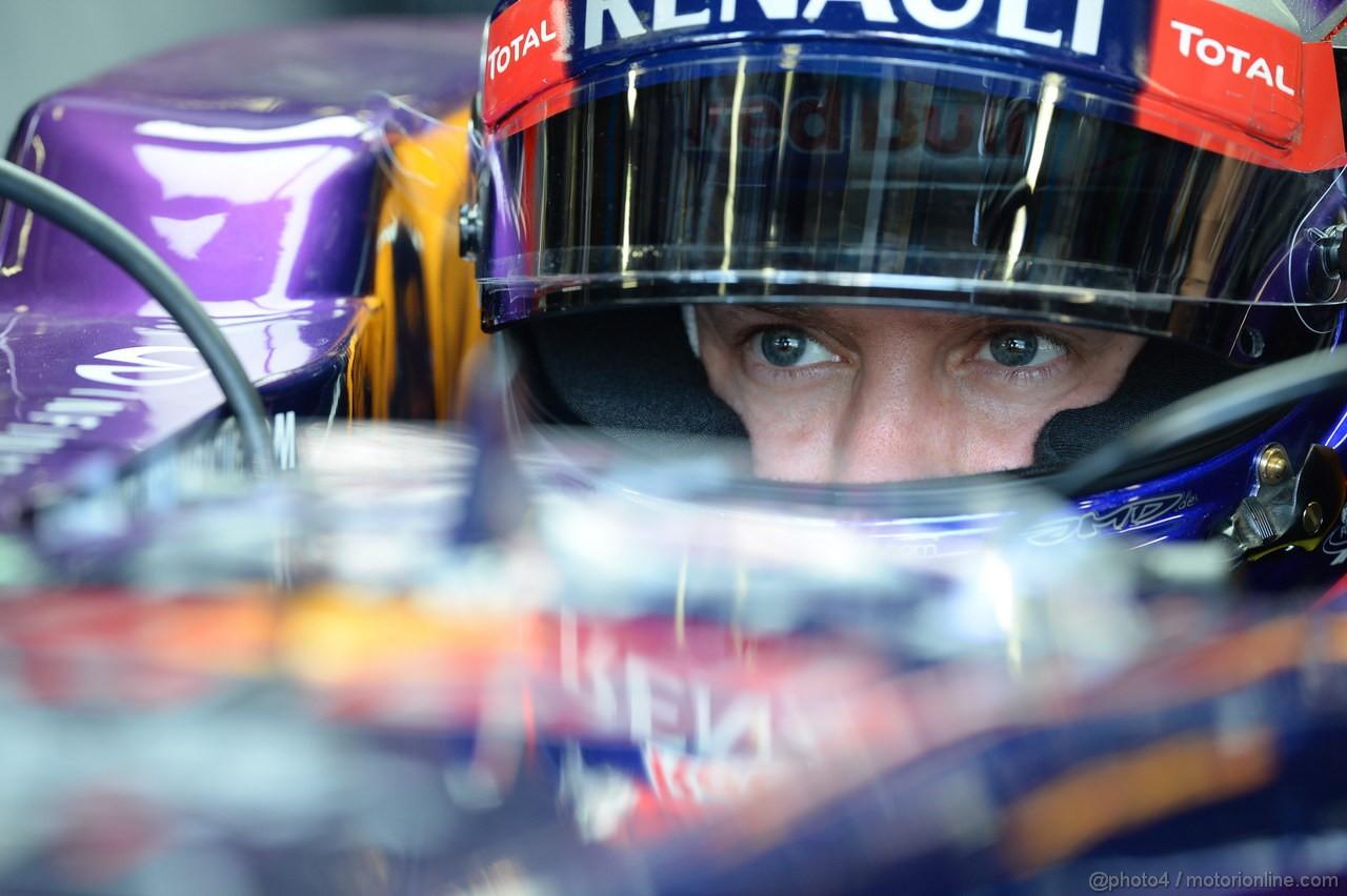 GP ITALIA, 06.09.2013- Prove Libere 1, Sebastian Vettel (GER) Red Bull Racing RB9