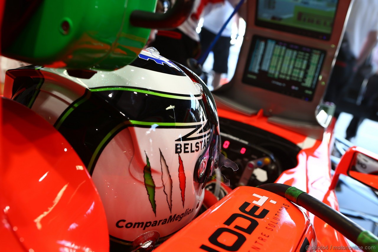 GP ITALIA, 06.09.2013- Prove Libere 1, Max Chilton (GBR), Marussia F1 Team MR02