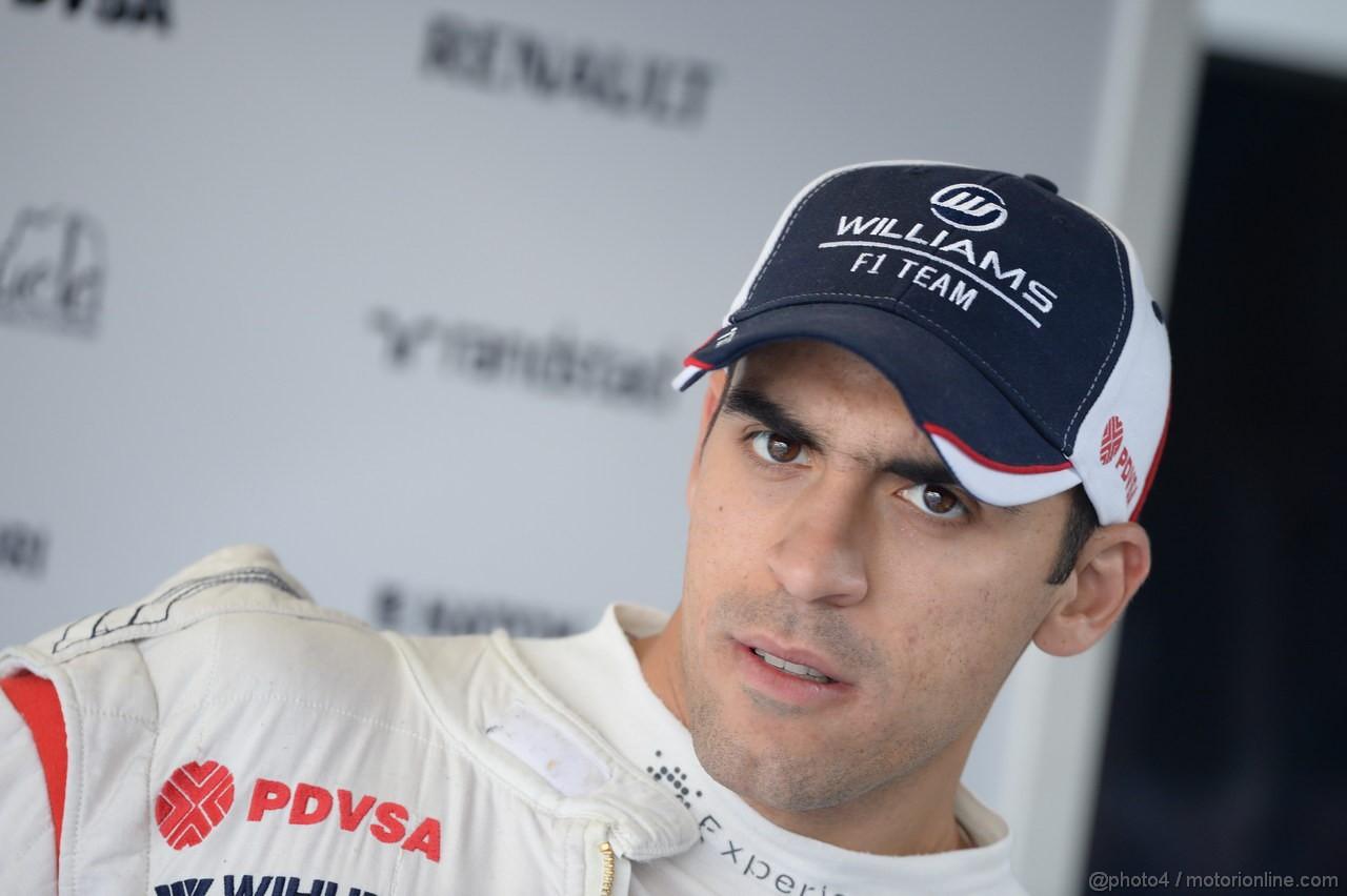 GP ITALIA, 06.09.2013- Prove Libere 1, Pastor Maldonado (VEN) Williams F1 Team FW35
