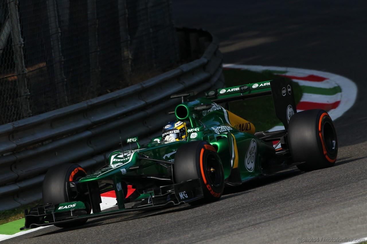 GP ITALIA, 06.09.2013- Prove Libere 1, Charles Pic (FRA) Caterham F1 Team CT03