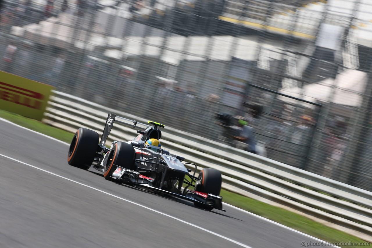 GP ITALIA, 06.09.2013- Prove Libere 1, Esteban Gutierrez (MEX), Sauber F1 Team C32