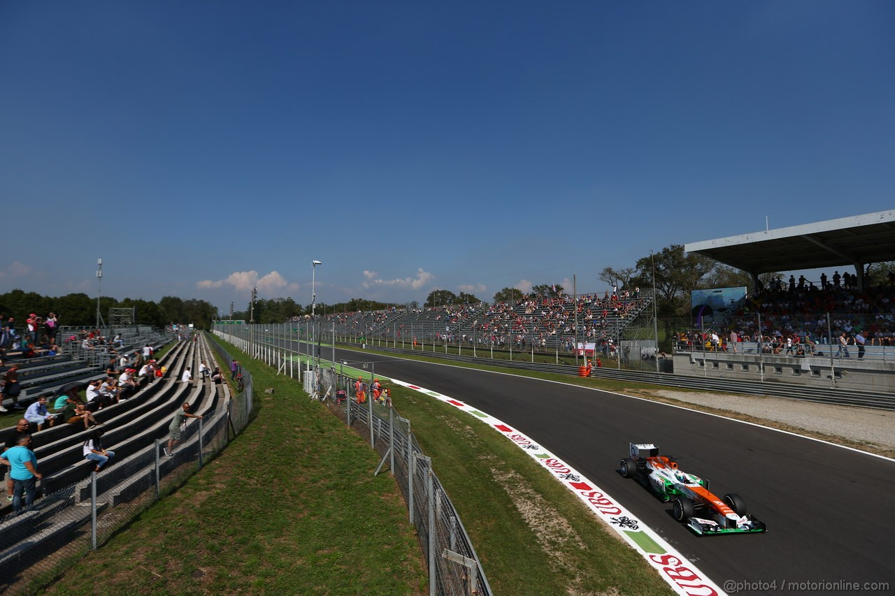GP ITALIA, 06.09.2013- Free practice 2, Paul di Resta (GBR) Sahara Force India F1 Team VJM06