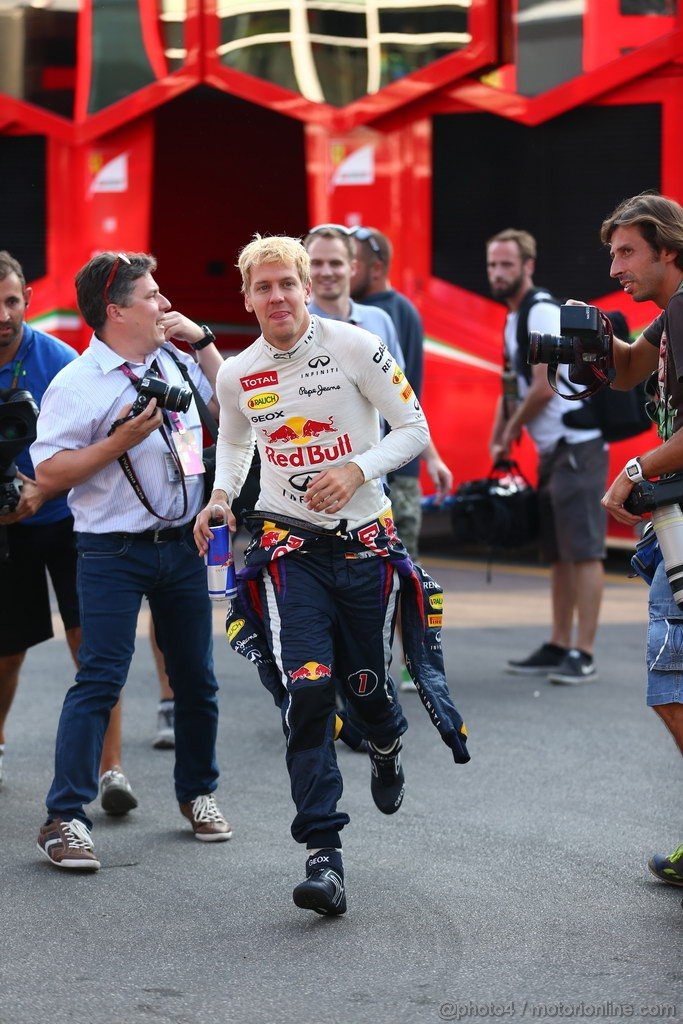 GP ITALIA, 06.09.2013- Sebastian Vettel (GER) Red Bull Racing RB9