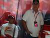 GP ITALIA, 06.09.2013- Free Practice 1, Felipe Massa (BRA) Ferrari F138 e his father Antonio Felipe Massa (BRA) Ferrari F138