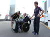 GP ITALIA, 06.09.2013- Kimi Raikkonen (FIN) Lotus F1 Team E21 with  Sir Frank Williams (GBR),Team Principal Williams F1 Team