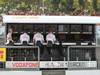 GP ITALIA, 06.09.2013- McLaren Pitwall