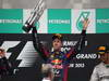 GP MALESIA, 24.03.2013- Gara, the podium; winner Sebastian Vettel (GER) Red Bull Racing RB9