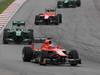 GP MALESIA, 24.03.2013- Gara, Jules Bianchi (FRA) Marussia F1 Team MR02