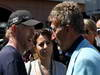 GP MONACO, 26.05.2013- Ron Howard (USA), Film Director e Eddie Jordan