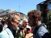 GP MONACO, 26.05.2013- Eddie Jordan e Andr� Villas-Boas (POR) Football Coach