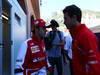 GP MONACO, 26.05.2013- Felipe Massa (BRA) Ferrari F138 e Jules Bianchi (FRA) Marussia F1 Team MR02