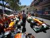 GP MONACO, 26.05.2013- Gara, Paul di Resta (GBR) Sahara Force India F1 Team VJM06 e Adrian Sutil (GER), Sahara Force India F1 Team VJM06