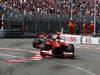 GP MONACO, 26.05.2013- Gara, Fernando Alonso (ESP) Ferrari F138 davanti a Jenson Button (GBR) McLaren Mercedes MP4-28