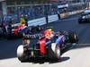 GP MONACO, 26.05.2013- Gara, Repartenza, Mark Webber (AUS) Red Bull Racing RB9 e Sebastian Vettel (GER) Red Bull Racing RB9
