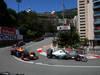 GP MONACO, Sebastian Vettel (GER) Red Bull Racing RB9 e Nico Rosberg (GER) Mercedes AMG F1 W04 26.05.2013- Gara,
