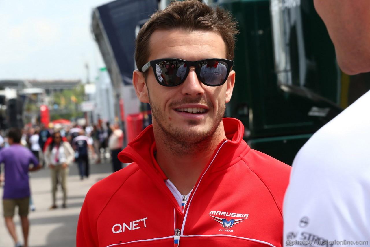 GP SPAGNA, 12.05.2013- Jules Bianchi (FRA) Marussia F1 Team MR02