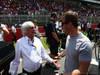 GP SPAGNA, 12.05.2013-  Gara, Bernie Ecclestone (GBR), President e CEO of Formula One Management  e S�bastien Loeb (FRA) WRC driver