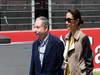 GP SPAGNA, 12.05.2013-  Gara, Jean Todt (FRA), President FIA e sua moglie Michelle Yeoh