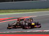 GP SPAGNA, 12.05.2013-  Gara, Sebastian Vettel (GER) Red Bull Racing RB9 davanti aKimi Raikkonen (FIN) Lotus F1 Team E21