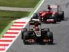 GP SPAGNA, 12.05.2013-  Gara, Kimi Raikkonen (FIN) Lotus F1 Team E21 davanti a Fernando Alonso (ESP) Ferrari F138