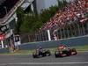 GP SPAGNA, 12.05.2013-  Gara, Sergio Perez (MEX) McLaren MP4-28 davanti a Daniel Ricciardo (AUS) Scuderia Toro Rosso STR8