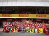 GP SPAGNA, 12.05.2013-  Gara, Festeggiamenti, Fernando Alonso (ESP) Ferrari F138 vincitore with his parents e terzo Felipe Massa (BRA) Ferrari F138