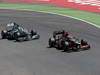 GP SPAGNA, 12.05.2013-  Gara, Nico Rosberg (GER) Mercedes AMG F1 W04 e Kimi Raikkonen (FIN) Lotus F1 Team E21