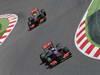 GP SPAGNA, 12.05.2013-  Gara, Jenson Button (GBR) McLaren Mercedes MP4-28 e Sergio Perez (MEX) McLaren MP4-28