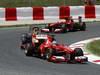 GP SPAGNA, 12.05.2013-  Gara, Fernando Alonso (ESP) Ferrari F138 davanti a Sebastian Vettel (GER) Red Bull Racing RB9