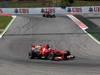 GP SPAGNA, 12.05.2013-Gara, Fernando Alonso (ESP) Ferrari F138 davanti a Kimi Raikkonen (FIN) Lotus F1 Team E21