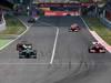 GP SPAGNA, 12.05.2013-Gara, Sebastian Vettel (GER) Red Bull Racing RB9 e Fernando Alonso (ESP) Ferrari F138