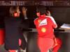 GP SPAGNA, 11.05.2013- Qualifiche, Luca Cordero di Montezemolo (ITA), President Ferrari  e Andrea Stella (ITA) Ferrari race Engineer