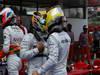 GP SPAGNA, 11.05.2013- Qualifiche, Nico Rosberg (GER) Mercedes AMG F1 W04 e Lewis Hamilton (GBR) Mercedes AMG F1 W04