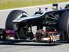 JEREZ TEST FEBBRAIO 2013, Lotus F1 E21 nosecone e front wing.