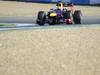 JEREZ TEST FEBBRAIO 2013, Sebastian Vettel (GER) Red Bull Racing RB9.